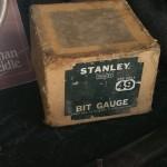 An IOB Stanley 49 bit gauge. Nickel on it is perfect.